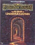 The Ruins of Undermountain (2e)