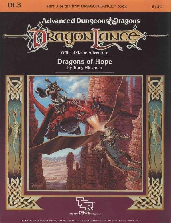 DL3 Dragons of Hope (1e)