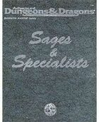 DMGR8: Sages & Specialists (2e)
