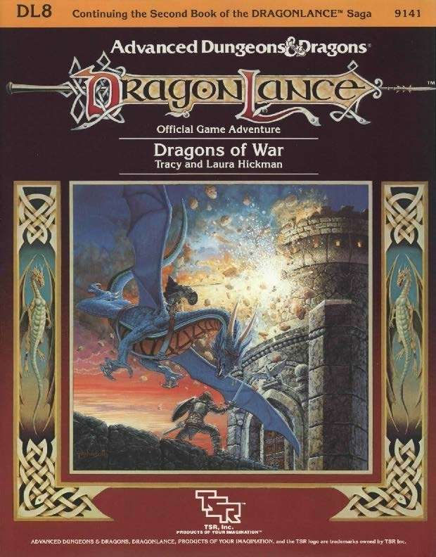 DL8 Dragons of War (1e)