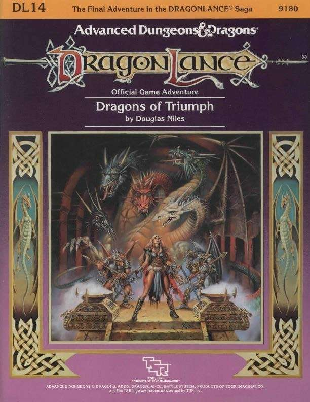 DL14 Dragons of Triumph (1e)