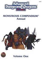 Monstrous Compendium Annual - Volume 1 (2e)
