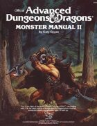 Monster Manual II (1e)