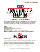 DDEX1-01 Defiance in Phlan (5e)