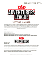 DDEX2-01 City of Danger (5e)