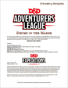DDEX1-07 Drums in the Marsh (5e)