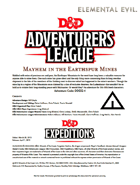 DDEX2-04 Mayhem in the Earthspur Mines (5e)
