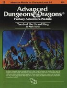 I2 Tomb of the Lizard King (1e)