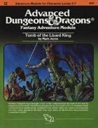 I2 Tomb of the Lizard King (1e)