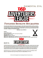 DDEX2-08 Foulness Beneath Mulmaster (5e)