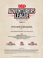 DDEX1 Tyranny of Dragons Complete Bundle [BUNDLE]
