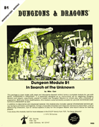 B1 In Search of the Unknown (Basic)
