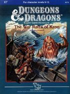 X7 The War Rafts of Kron (Basic)