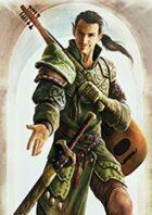 Pregen Characters: Half-Elf Bard (5e)