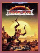 Dark Sun Boxed Set (2e)