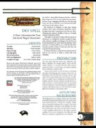 Dry Spell (3.5)