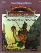 DSM3 Marauders of Nibenay (2e)