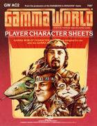 Gamma World PC Record Sheets