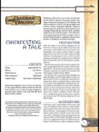 Manifesting: A Tale (3.0)
