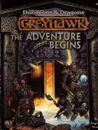 Greyhawk: The Adventure Begins (2e)