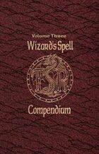 Wizard's Spell Compendium Vol. 3 (2e)