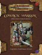 Complete Warrior (3.5)