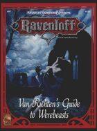 RR7 Van Richten's Guide to Werebeasts (2e)