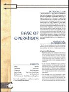 Base of Operations (3.0)