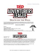 DDEX03-14 Death on the Wall (5e)