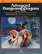 I10: Ravenloft II: The House on Gryphon Hill (1e)
