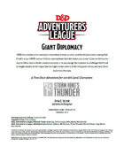 DDAL05-10 Giant Diplomacy (5e)