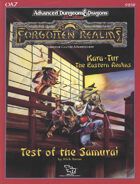 OA7 Test of the Samurai (2e)