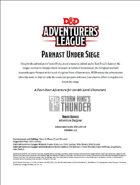 DDAL05-16 Parnast Under Siege (5e)