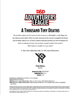 DDAL06-01 A Thousand Tiny Deaths (5e)