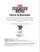 DDAL06-03 Crypt of the Death Giants (5e)
