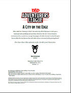 DDAL07-01 A City on the Edge (5e)