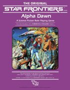 Star Frontiers: Alpha Dawn at DrivethruRPG