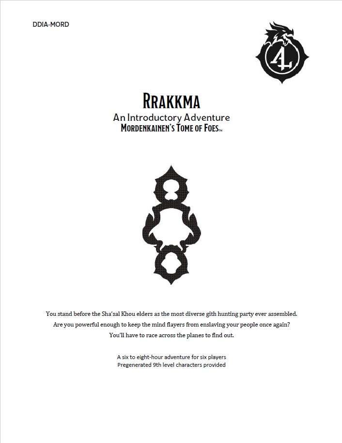 Cover of DDIA-MORD Rrakkma