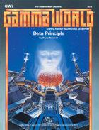 GW7: Beta Principle