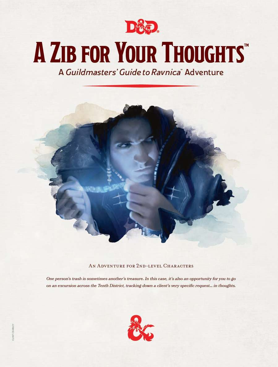 Cover of A Zib For Your Thoughts