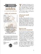 Birthright: Player's Secrets of Muden (2e)