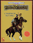 Forgotten Realms Campaign Setting  Revised (2E)