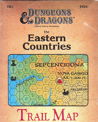 The Eastern Countries Trail Map