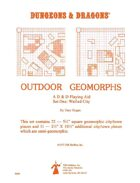 Outdoor Geomorphs Set 1 - Walled City (OD&D & Basic)