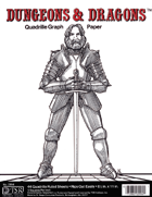 Dungeons & Dragons Quadrille Graph Paper