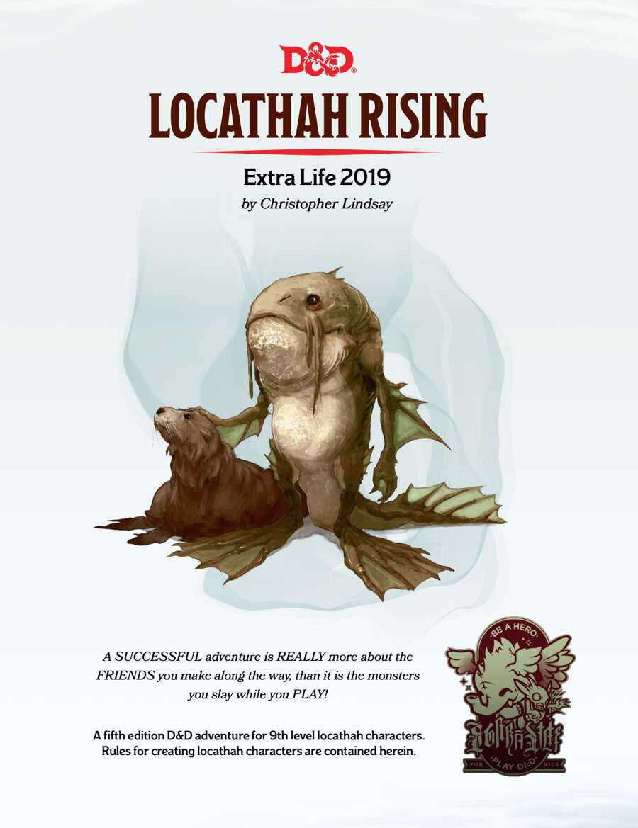 Cover of Locathah Rising