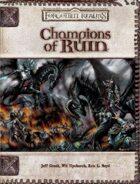 Champions of Ruin (3.5)