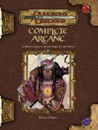 Complete Arcane (3.5)