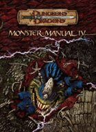 Monster Manual IV (3.5)