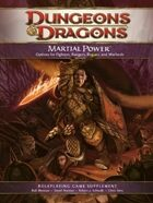Martial Power (4e)